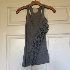 Urban Outfitters Pins And Needles Ruffle Tank